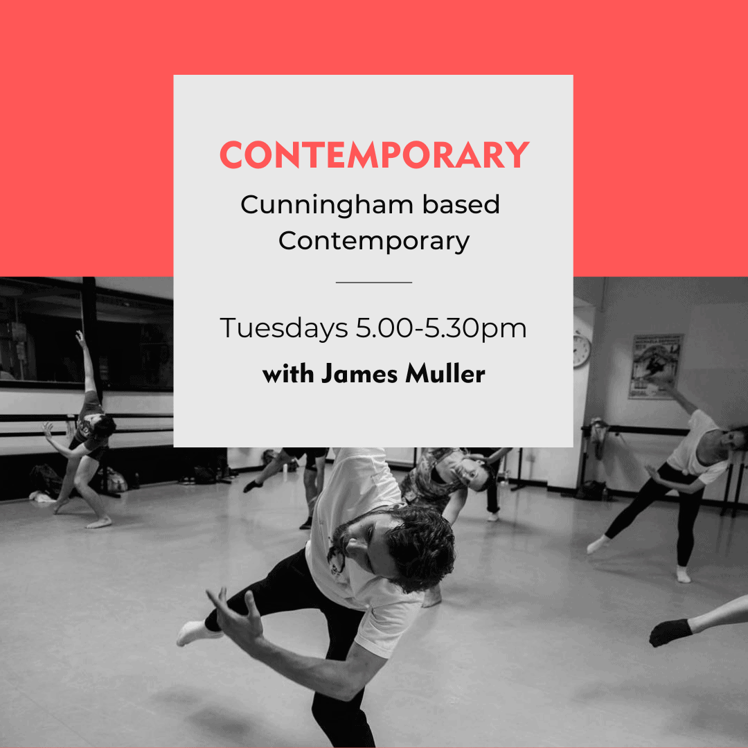 Danceworks #instagramlive weekly contemporary class