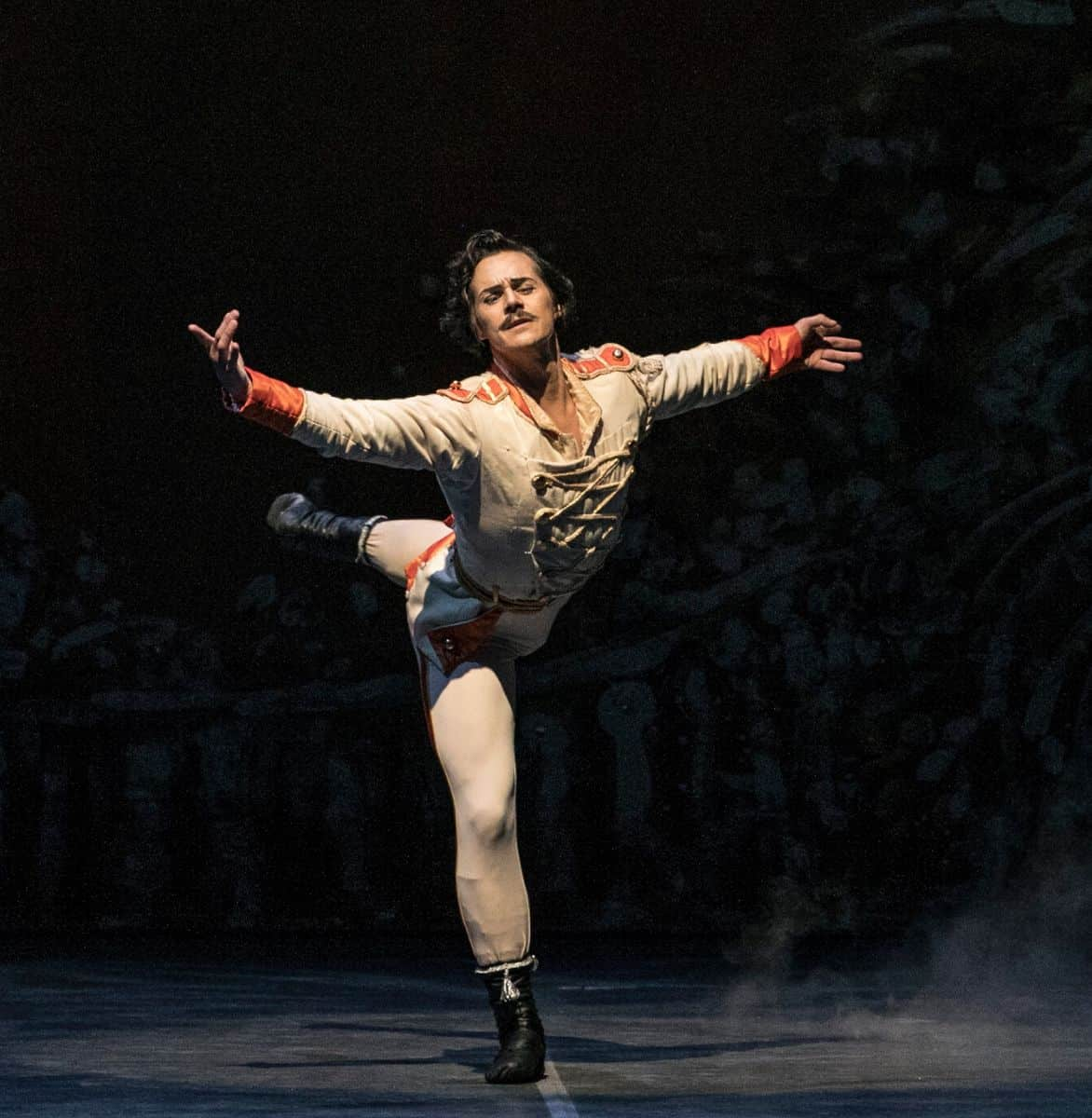 Danceworks guest teacher Alejandro Parente