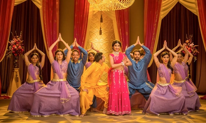 Join renowned teacher Naz Choudhury for a Bolly Flex Bollywood dance class