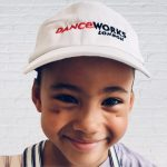 Danceworks_White_Branded_kids_Cap
