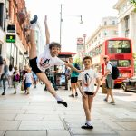 Danceworks White Classic Tee for kids DW0010WBO at Danceworks shop in London