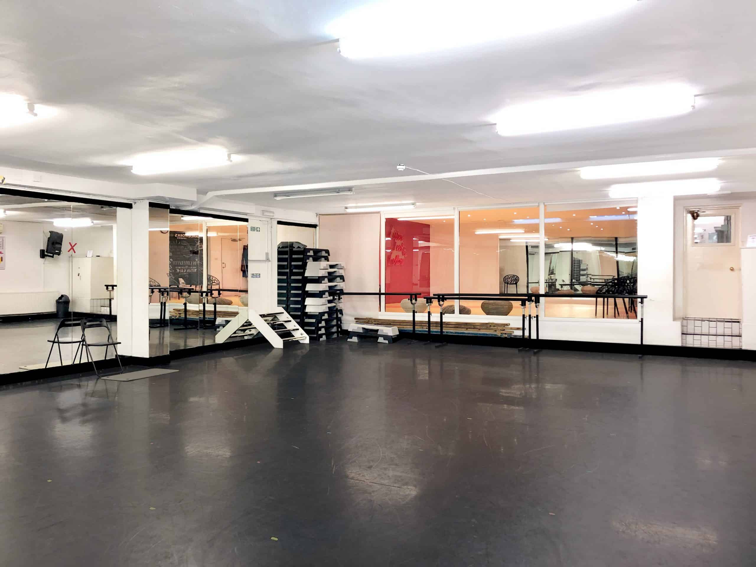 Studio 11 to hire at Danceworks