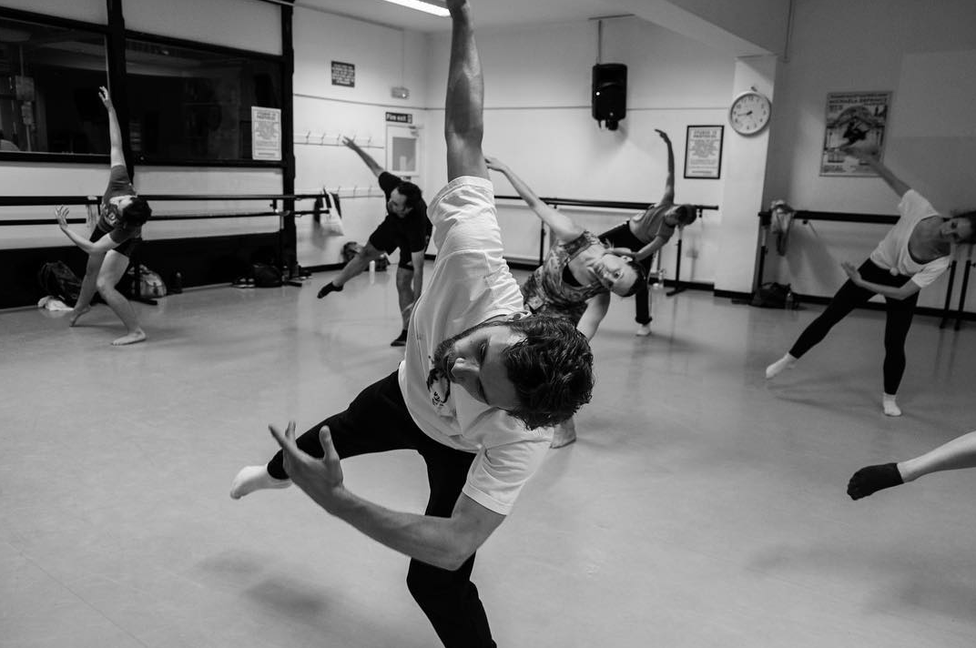 Join James Muller for Contemporary Classes at Danceworks