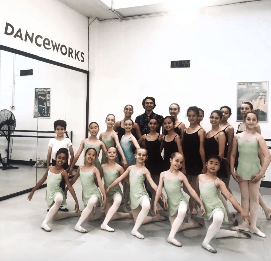 Ivan Putrov teaching at Danceworks Ballet Academy Summer School!