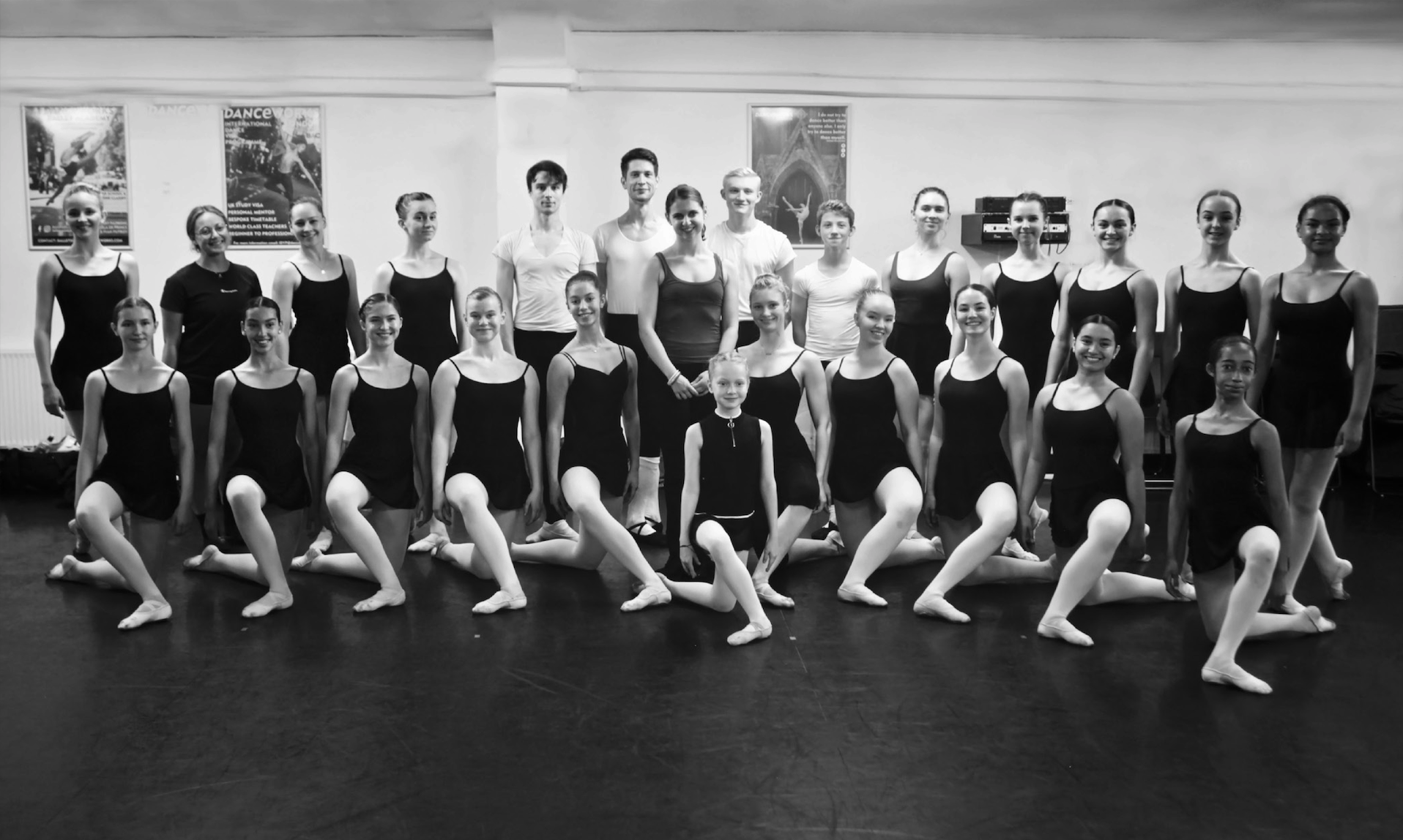 Julia Conway teaching at Danceworks Ballet Academy Summer Intensive in 2019