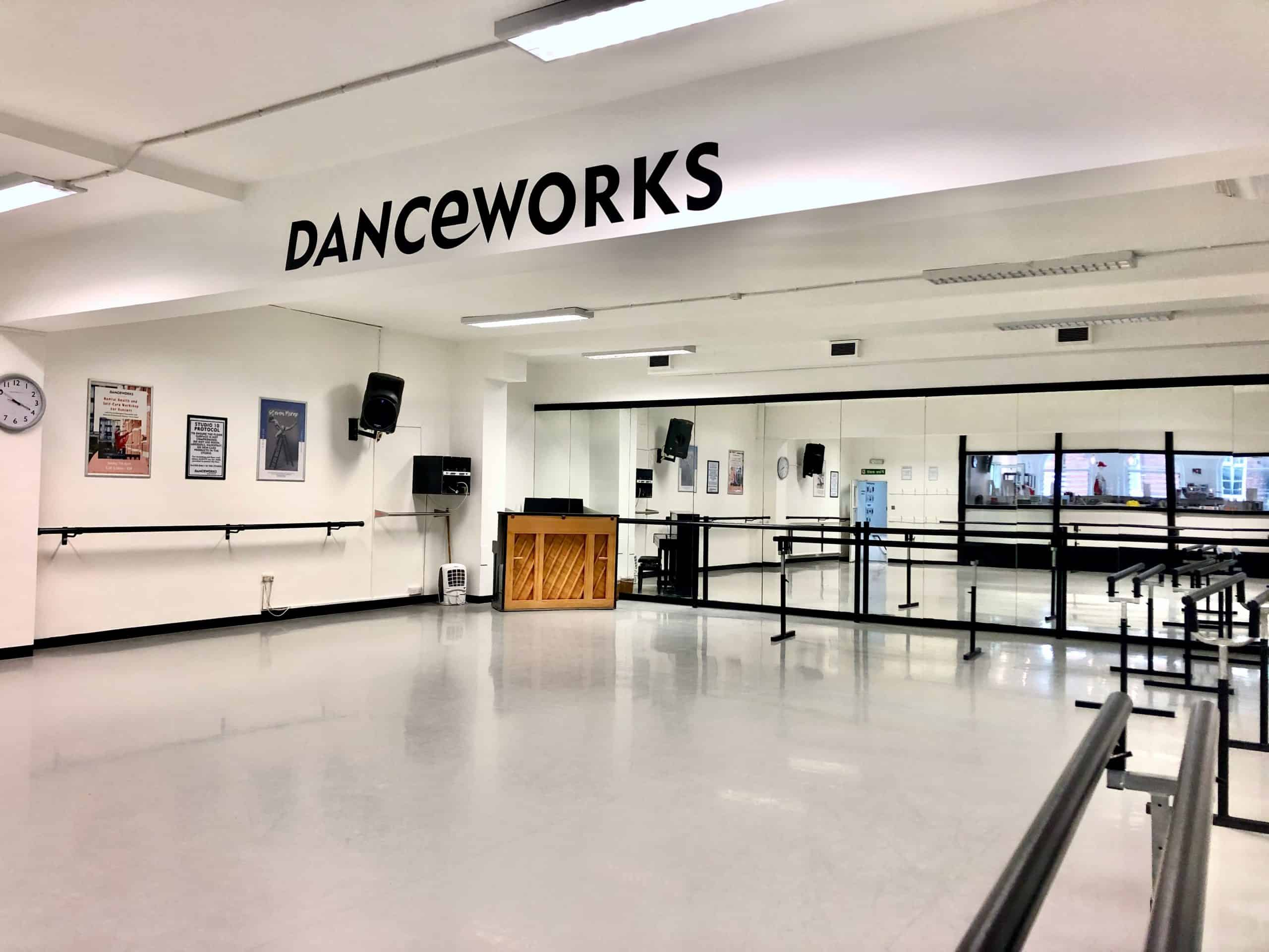 #Danceworks Studios 10 to Hire in London