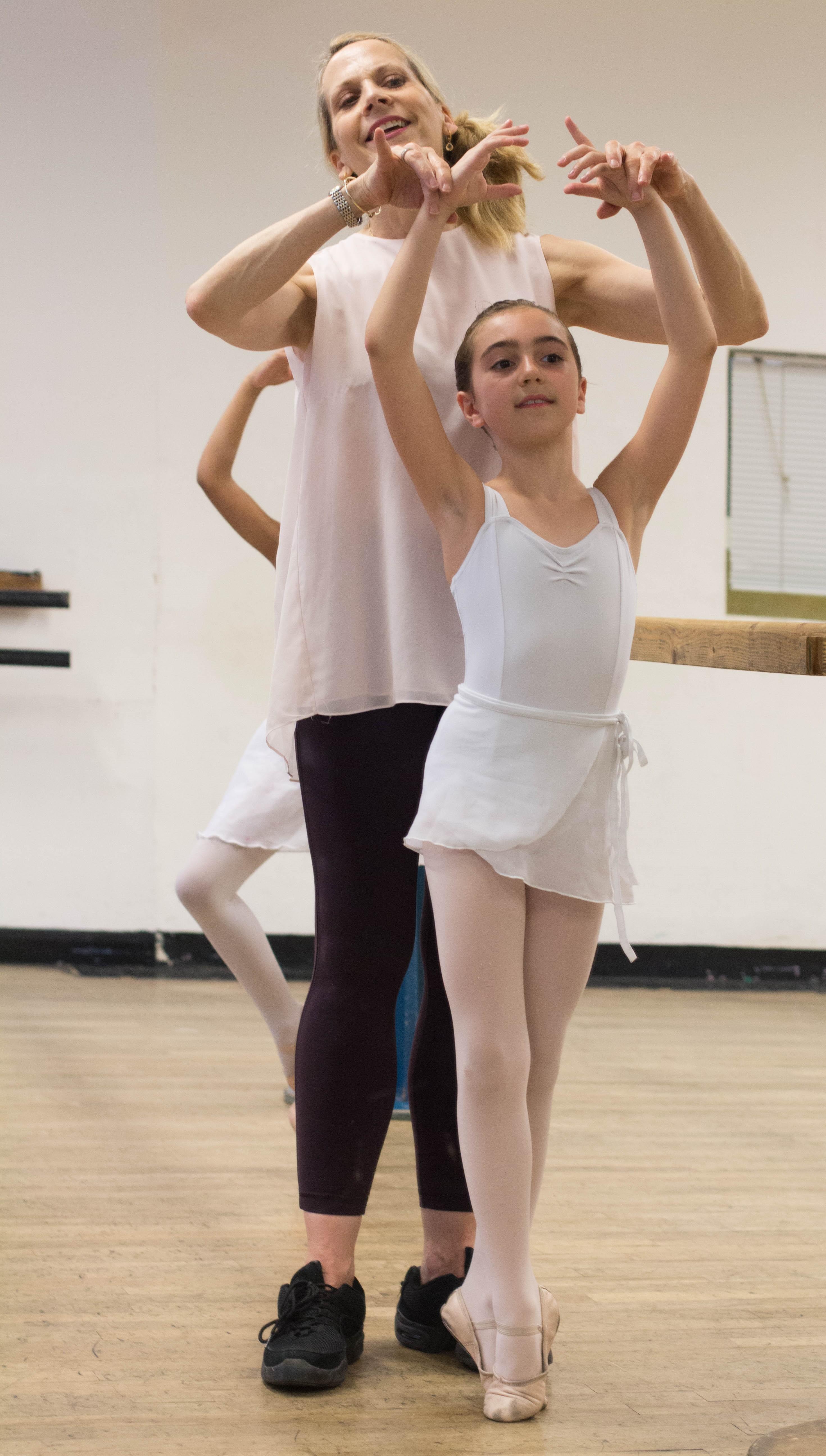 Kim White ballet teacher at Danceworks