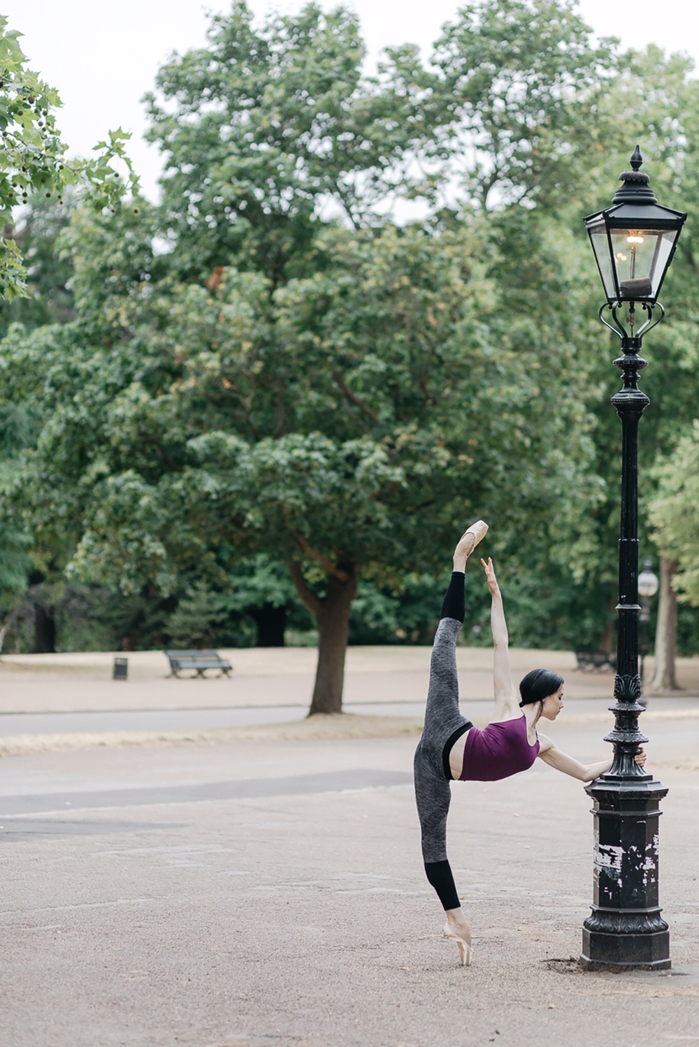 Advanced and professional ballet classes with Isabella McGuire Mayes at Danceworks in London