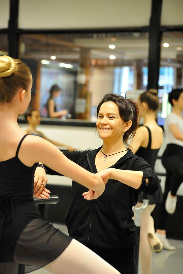 Beginner's Ballet class with Christina Mittelmaier at Danceworks in Central London