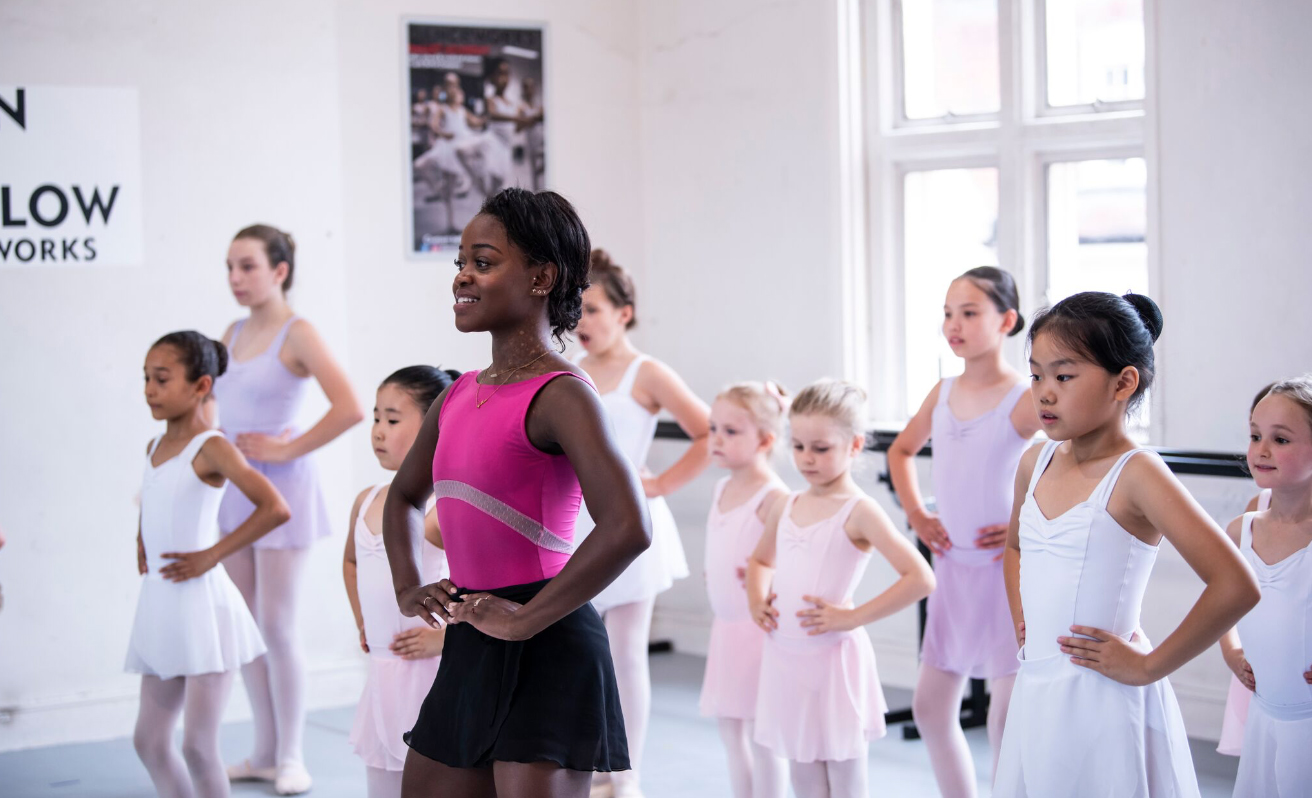 Academy classes and fees Michaela DePrince Our younger students with Guest Teach Michaela DePrince of Dutch National Ballet/author of Taking Flight