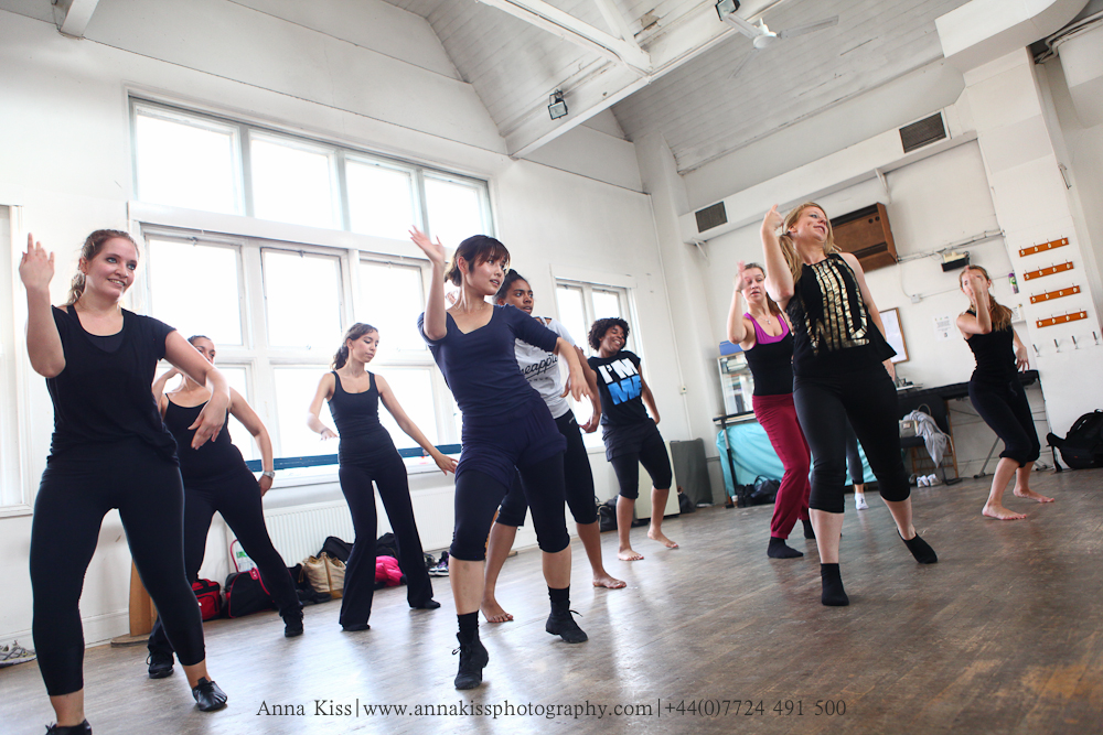 Danceworks dance classes for beginners in Mayfair, Central London