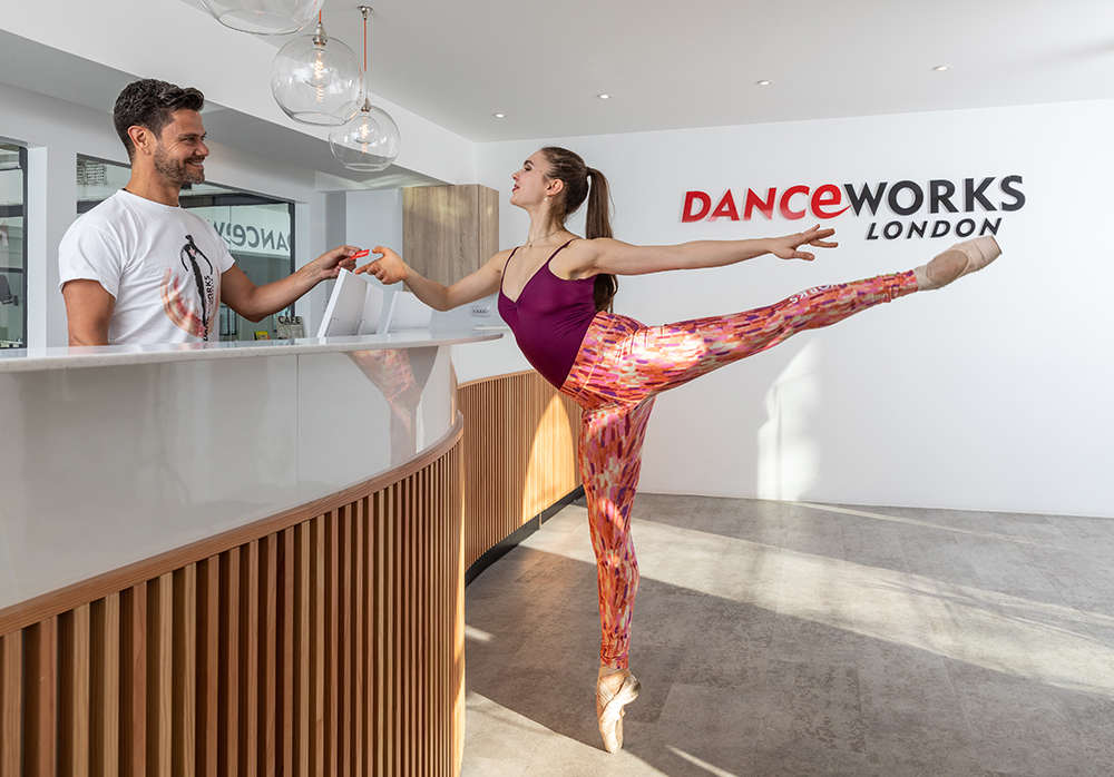 Danceworks dance, ballet, contemporary classes, studios, academy in Mayfair, Central London