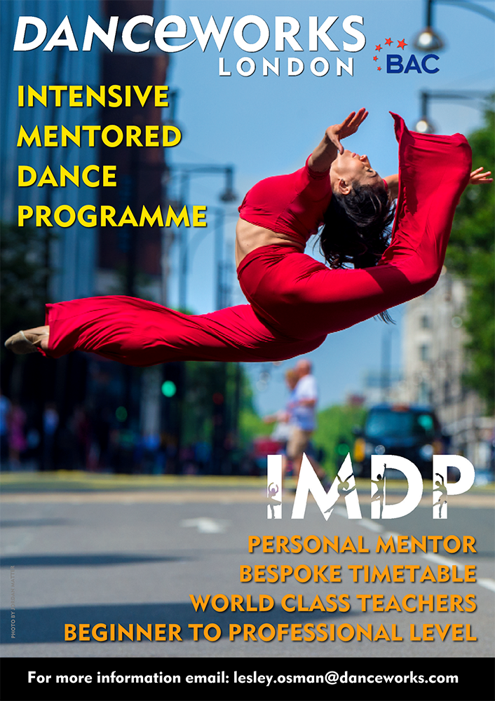 Danceworks Intensive Mentored Dance Programme in Central London