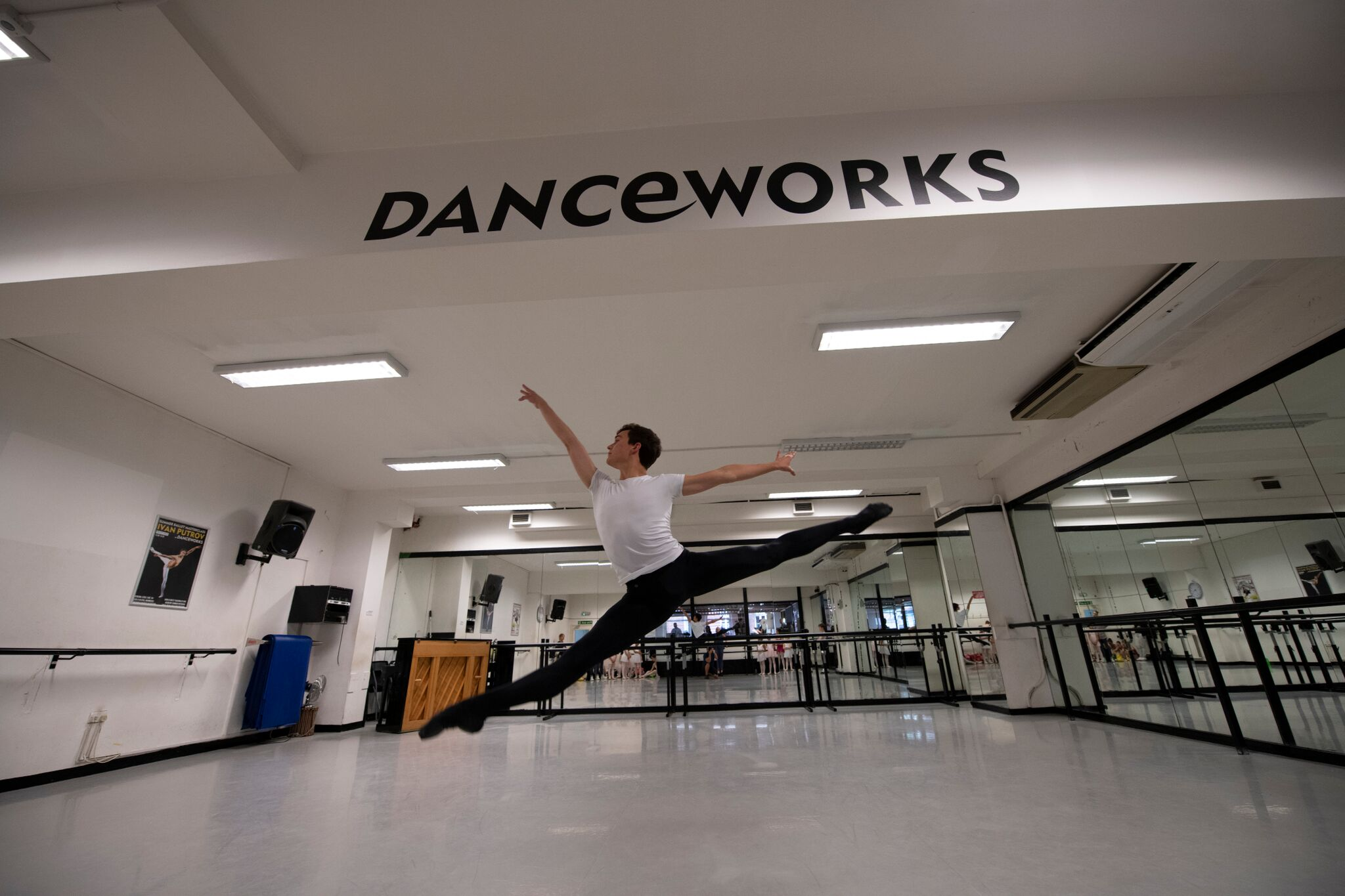 Danceworks standby dance and ballet studio bookings in Central London