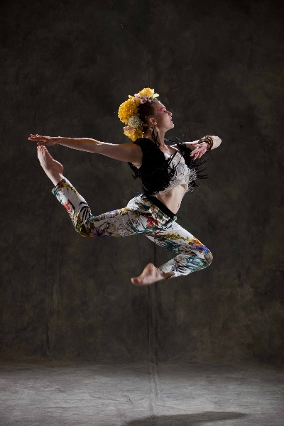 Dynamic Contemporary class with Jane Coulston at Danceworks in Central London