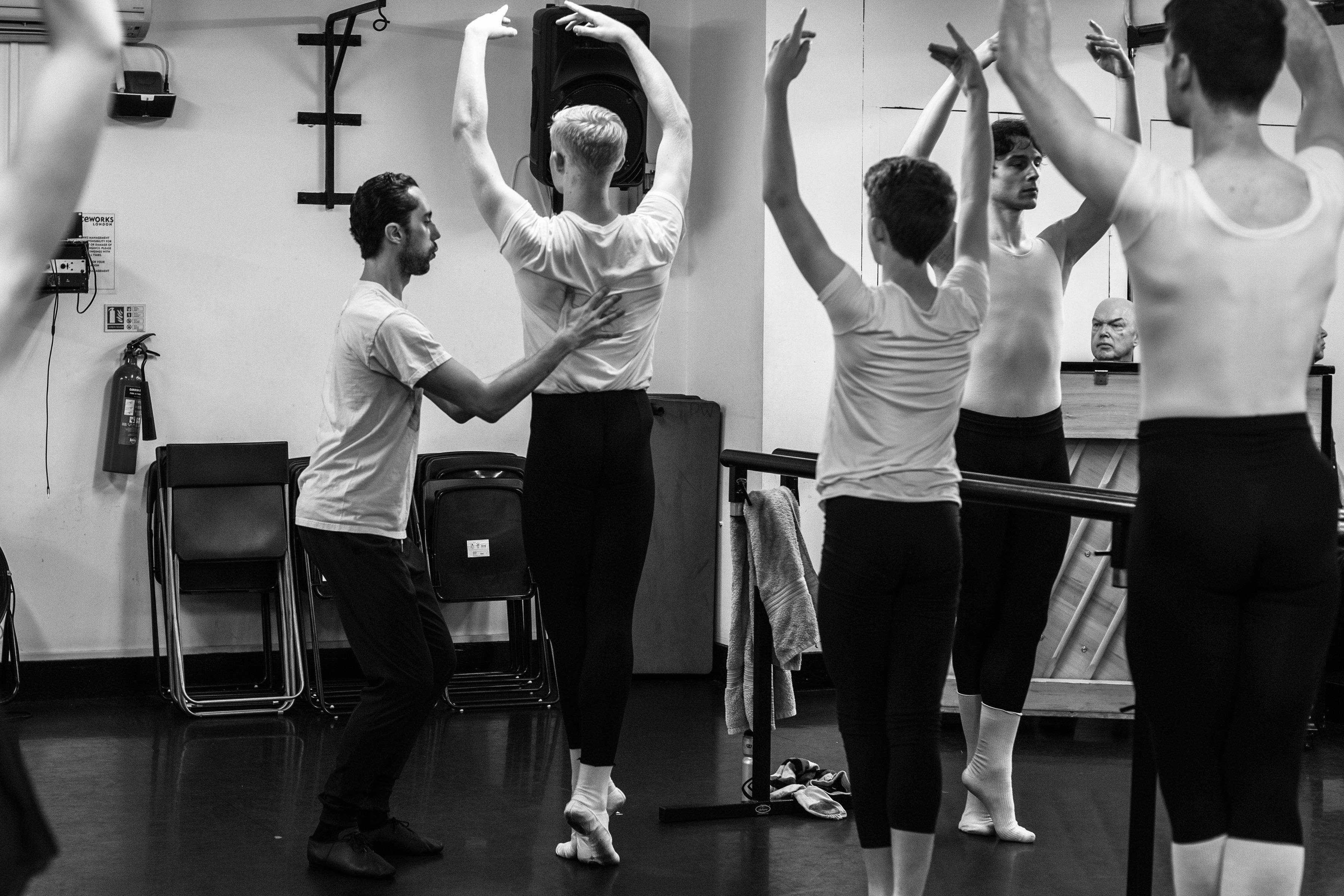 Erico Montes teacher at Danceworks London