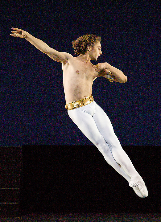 Ivan Putrov, Guest Teacher of Danceworks Ballet Academy in Mayfair, London