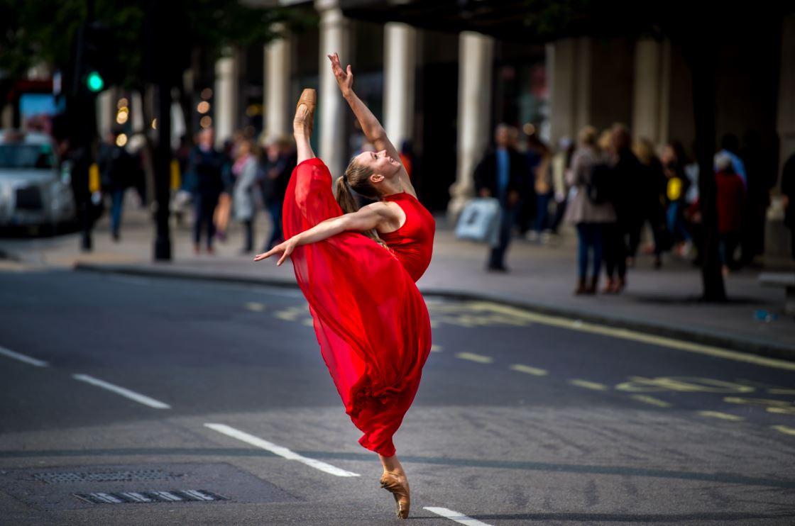Jordan Matter's 'Born to Dance' book's launch in London at Danceworks