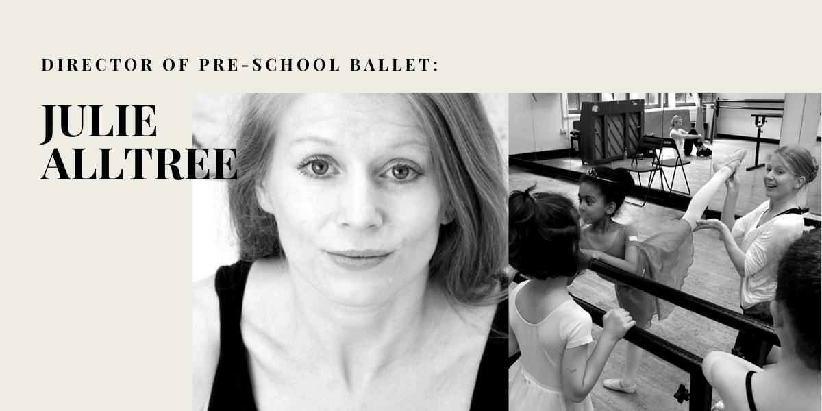 Julie Alltree director of Baby Ballet at Danceworks