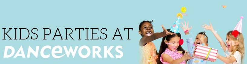 Kid's parties for your child and their friends at Danceworks in Central London