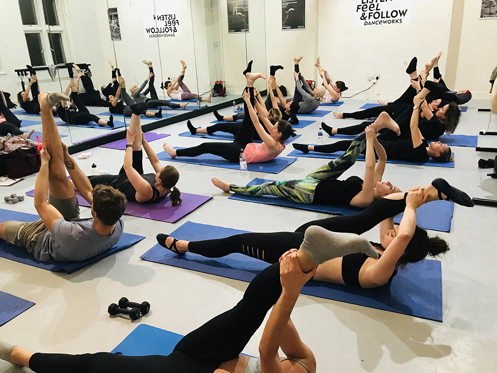 Power Pilates & Beach Body Barre classes in London with Lucy Potucek at Danceworks