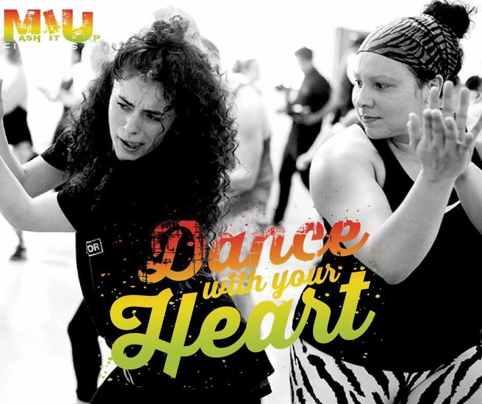 Mash It Up Dancehall class with Laura Vicente at Danceworks in Central London