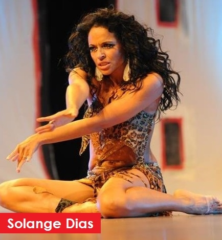Samba class with Solange Dias at Danceworks in Central London