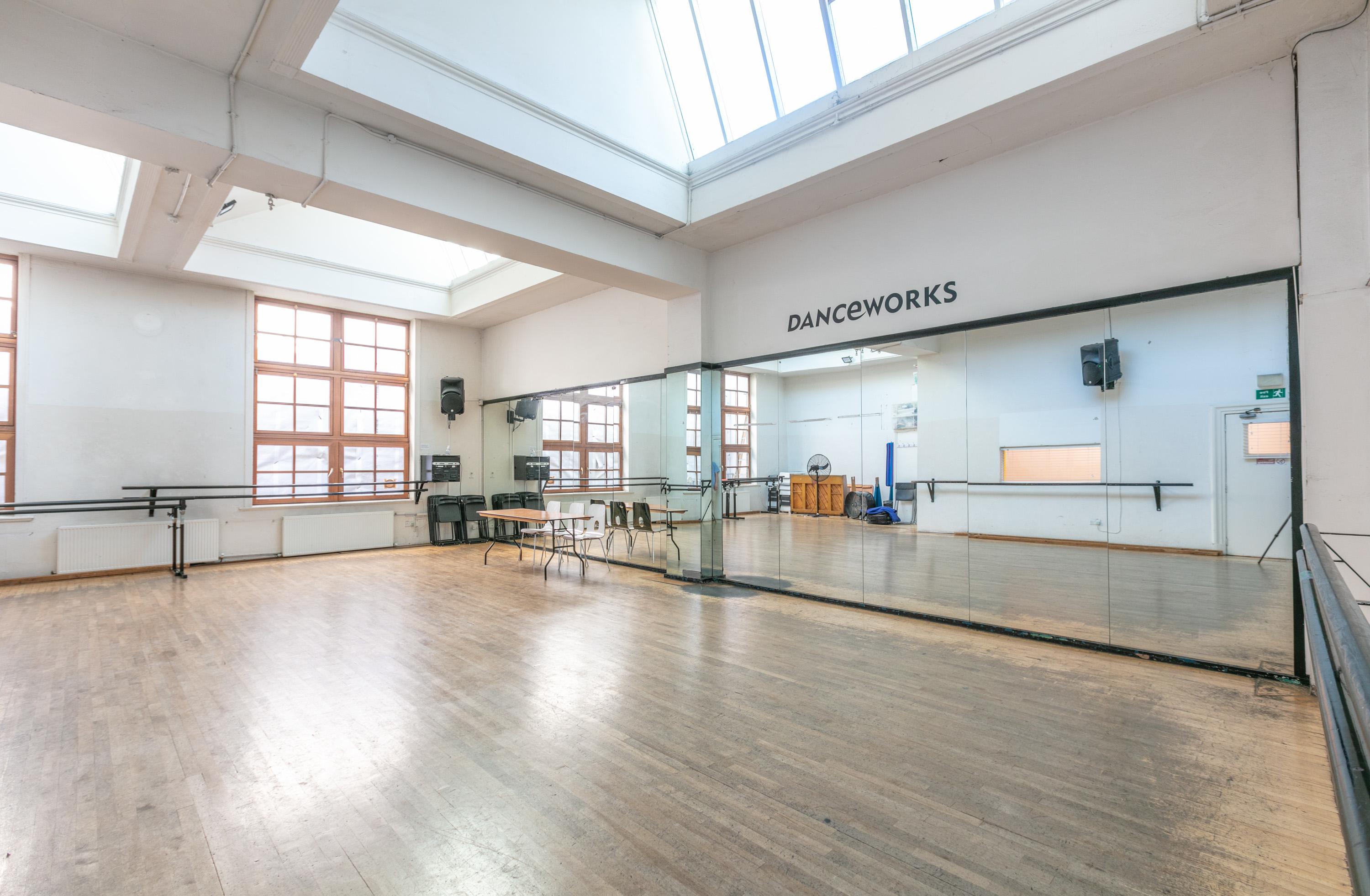 Studio hire at Danceworks London Mayfair