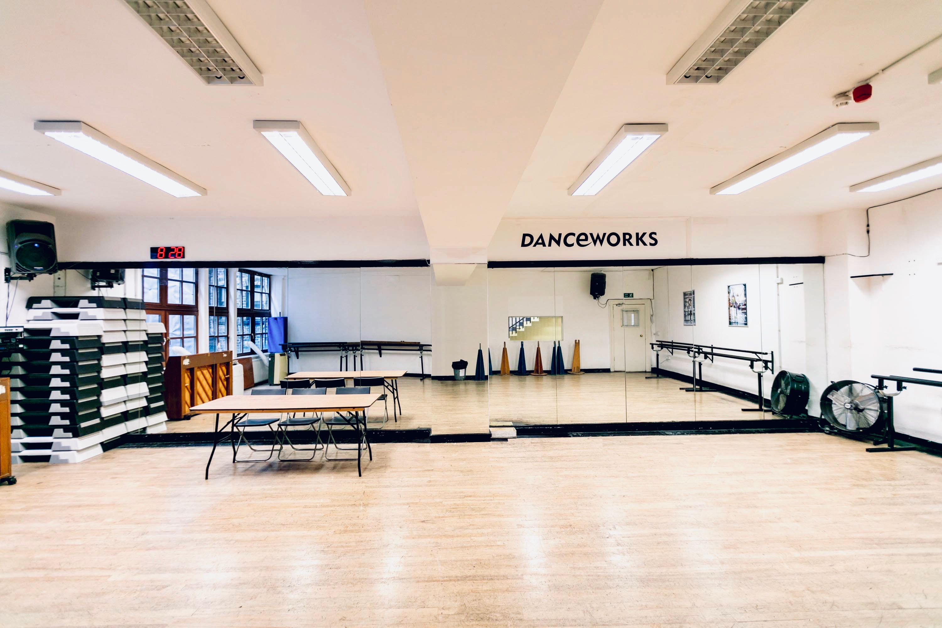 Studio 5 to hire at Danceworks London